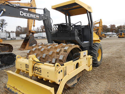 2008 Bomag BW177PDH Compacting and Paving