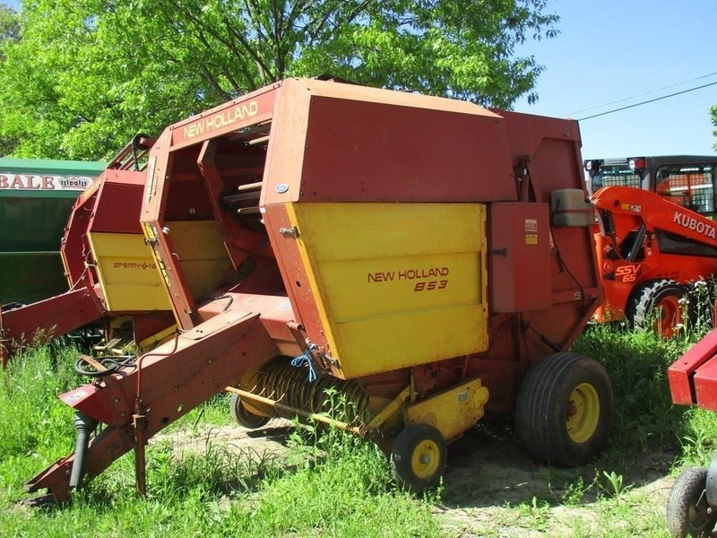 Used New Holland 853 Round Balers for Sale | Machinery Pete