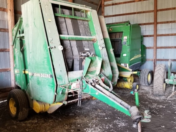 John Deere 435 Round Balers for Sale | Machinery Pete