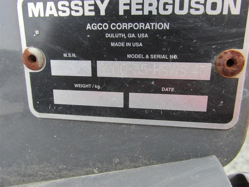 2007 Massey Ferguson 8200 Platform