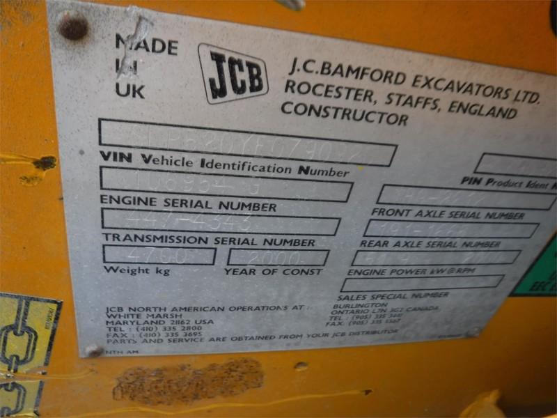 2000 JCB 520 Telehandler