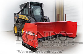 Hiniker 3608 Loader and Skid Steer Attachment