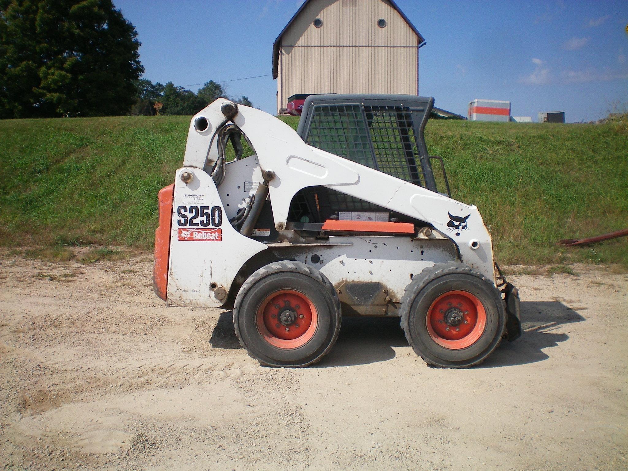 2006 Bobcat S250 Skid Steer