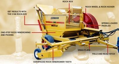 2021 Haybuster 3106 Rock Picker