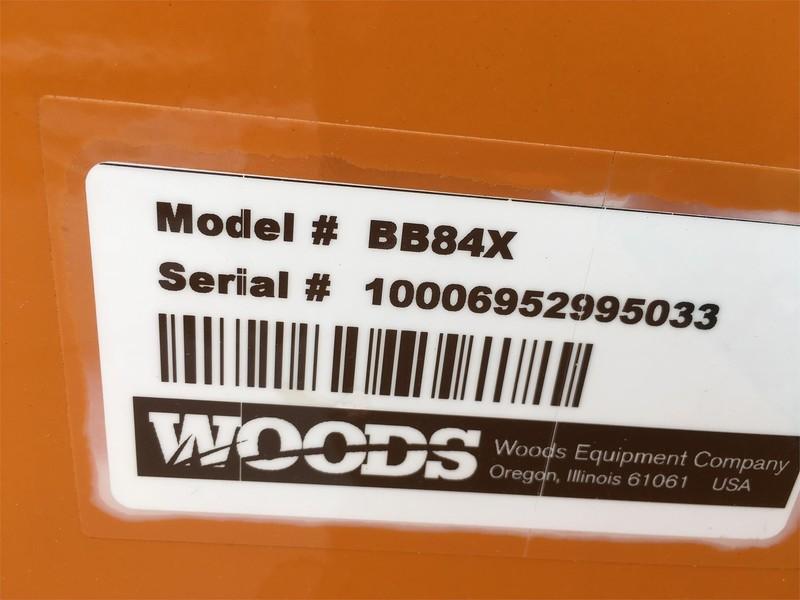 2018 Woods BB84X Rotary Cutter