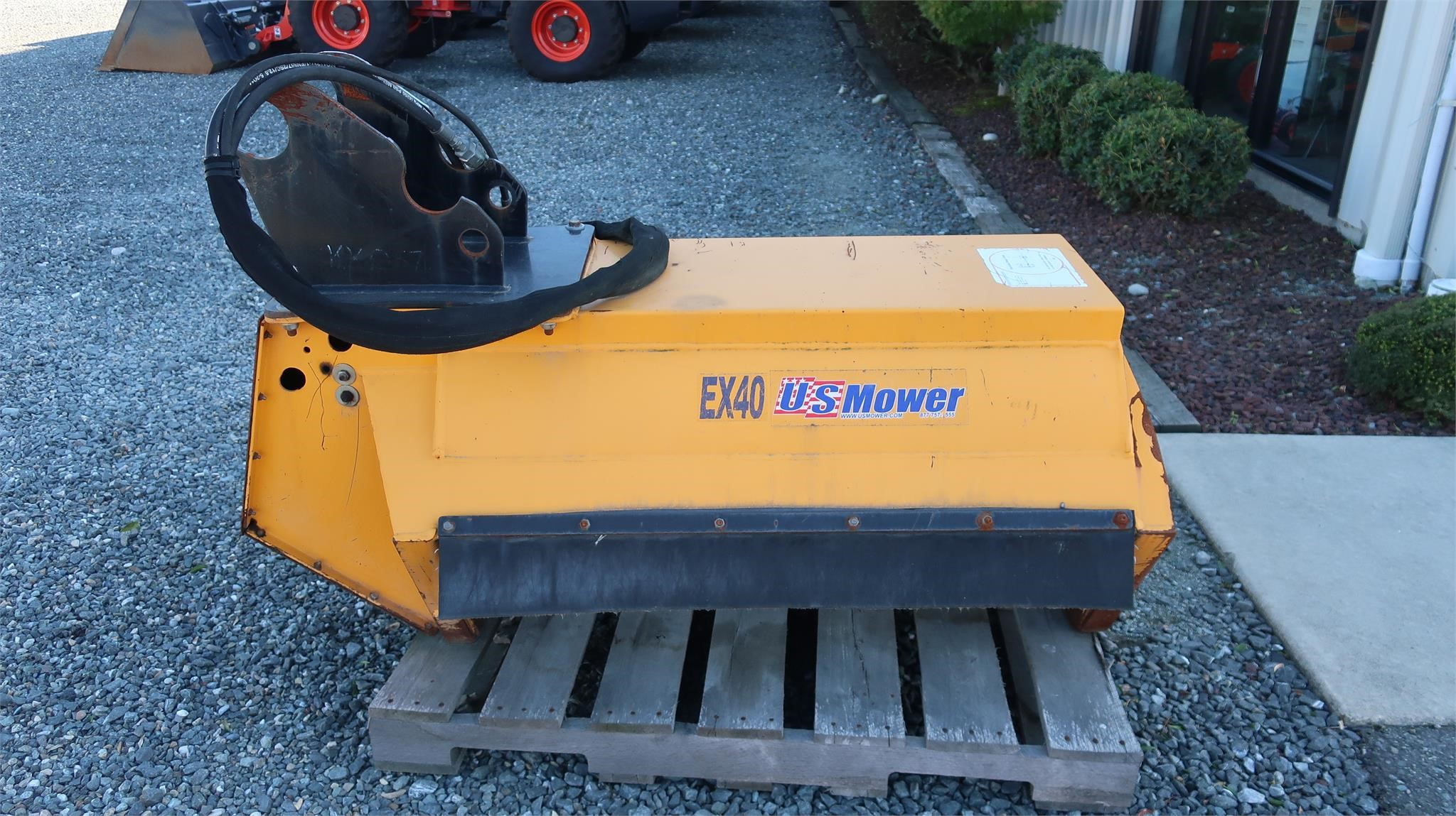 US Mower EX40DDBF Miscellaneous