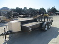 2010 H&H UT142 Flatbed Trailer