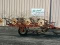 H & S 8 Wheel Rake Rake
