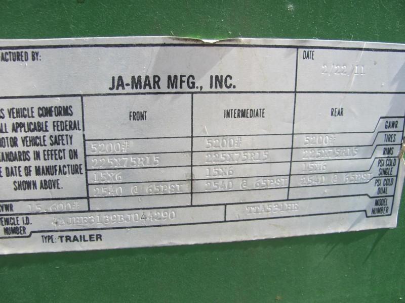 Ja-Mar TTA531HE Miscellaneous