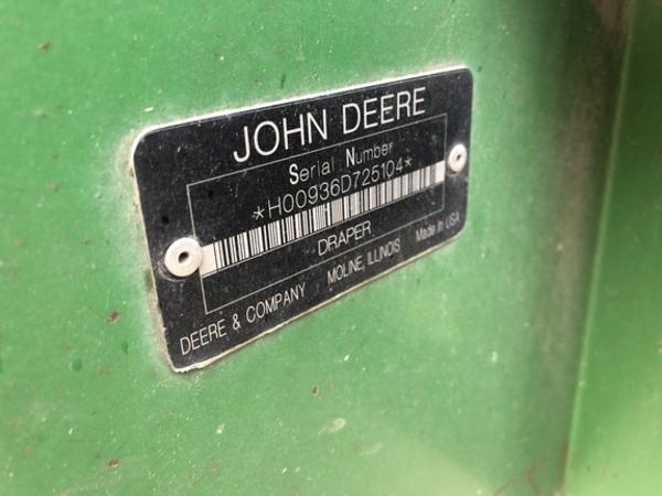 2008 John Deere 936D Platform