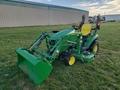 2017 John Deere 1023E Tractor