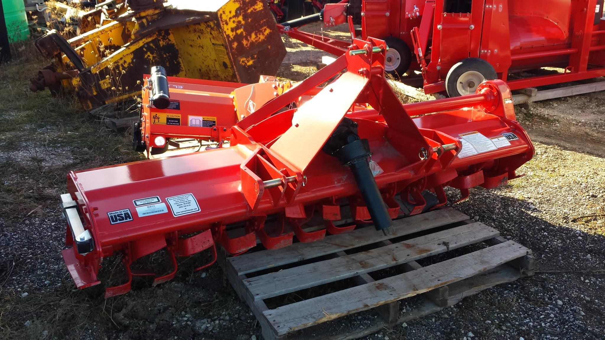 Taylor Way 962GDT72 Mulchers / Cultipacker