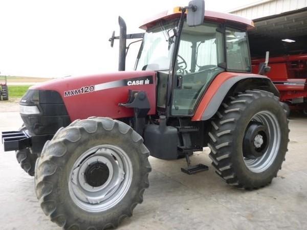 2004 Case IH MXM120 Tractor