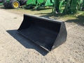 "John Deere 90"" Bucket Loader and Skid Steer Attachment"