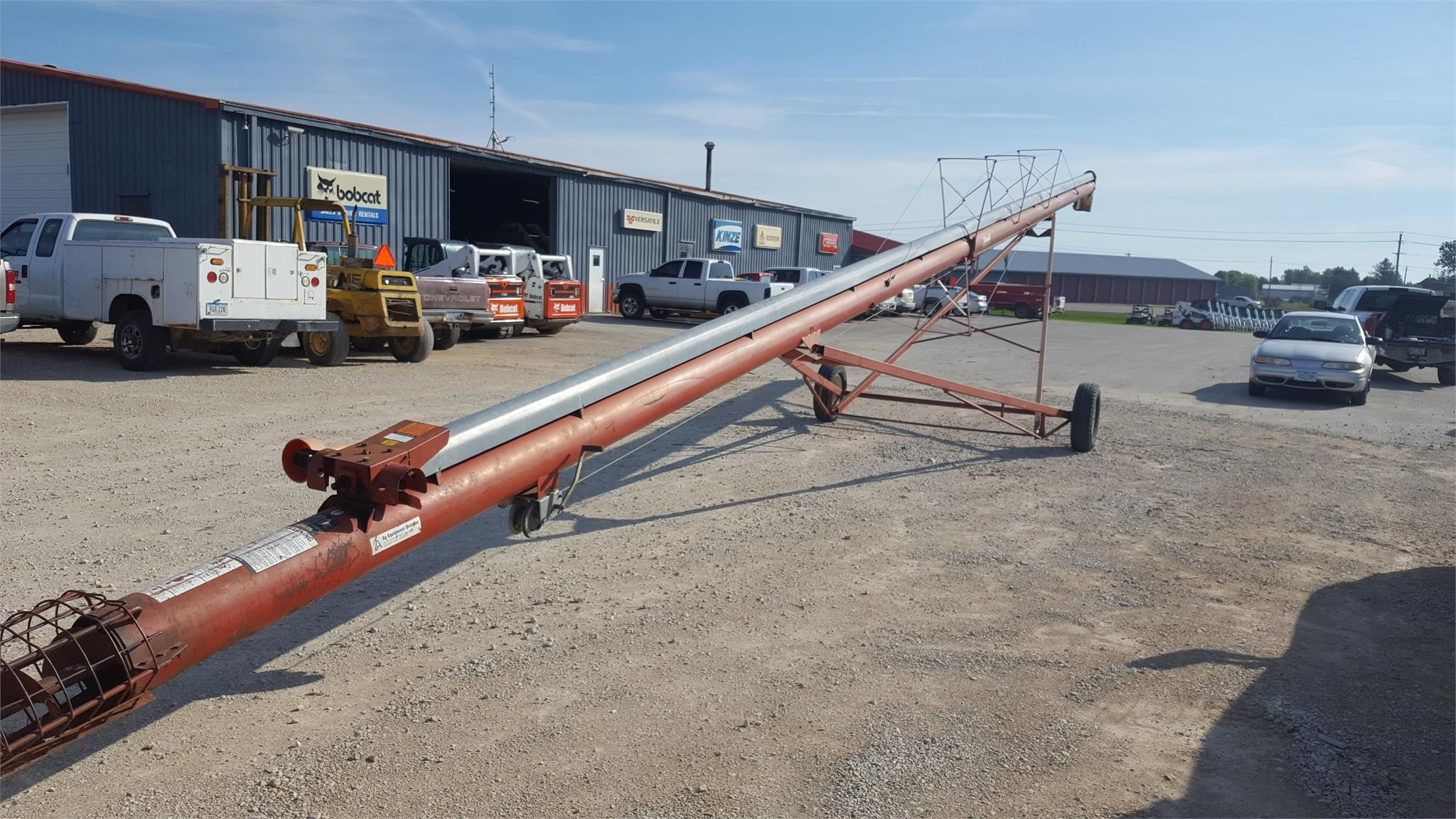 Feterl 8x66 Augers and Conveyor