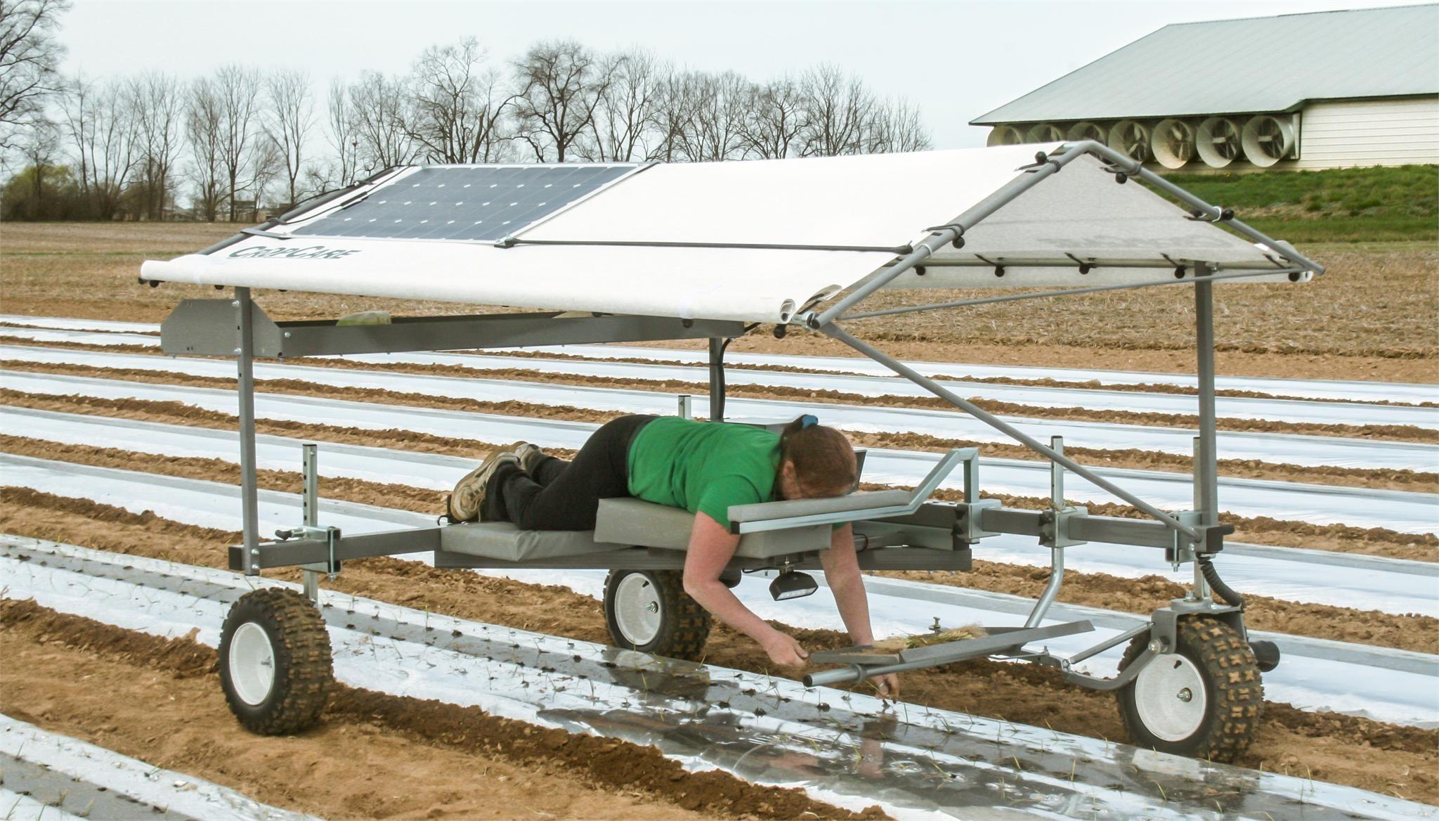 2021 CropCare PA1600 Vegetable Equipment