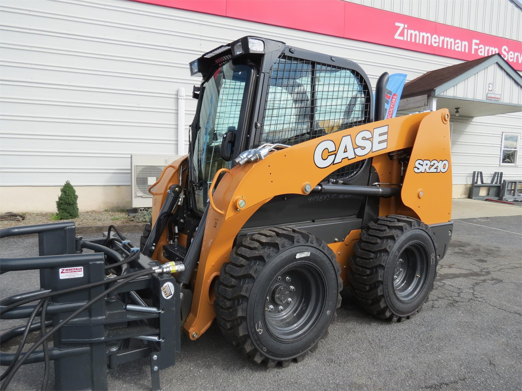 2019 Case SR210 Skid Steer