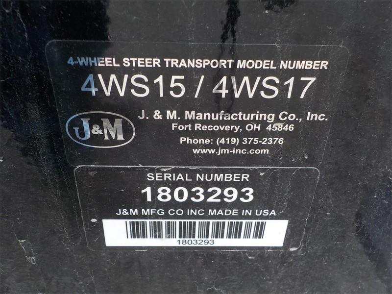 2018 J&M 4WS15-42 Header Trailer