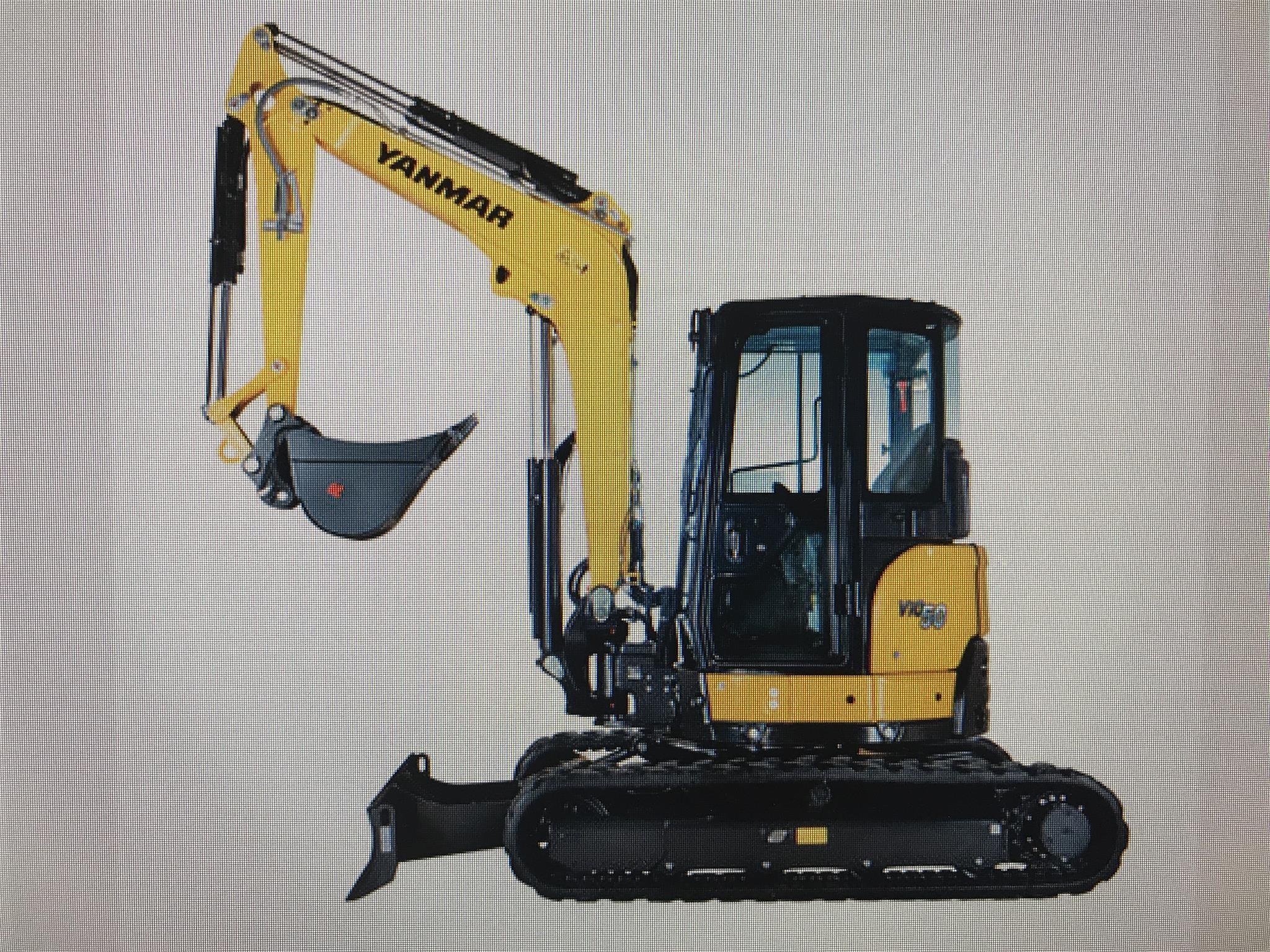 2020 Yanmar VIO50 Excavators and Mini Excavator
