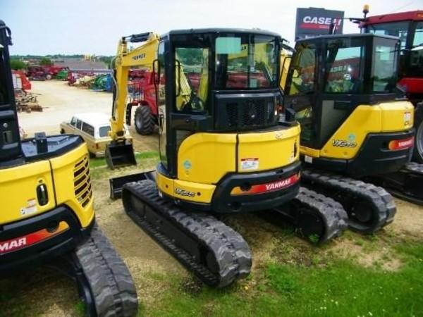 2018 Yanmar VIO55-6A Excavators and Mini Excavator
