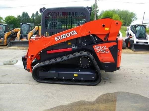 2018 Kubota SVL75 Skid Steer
