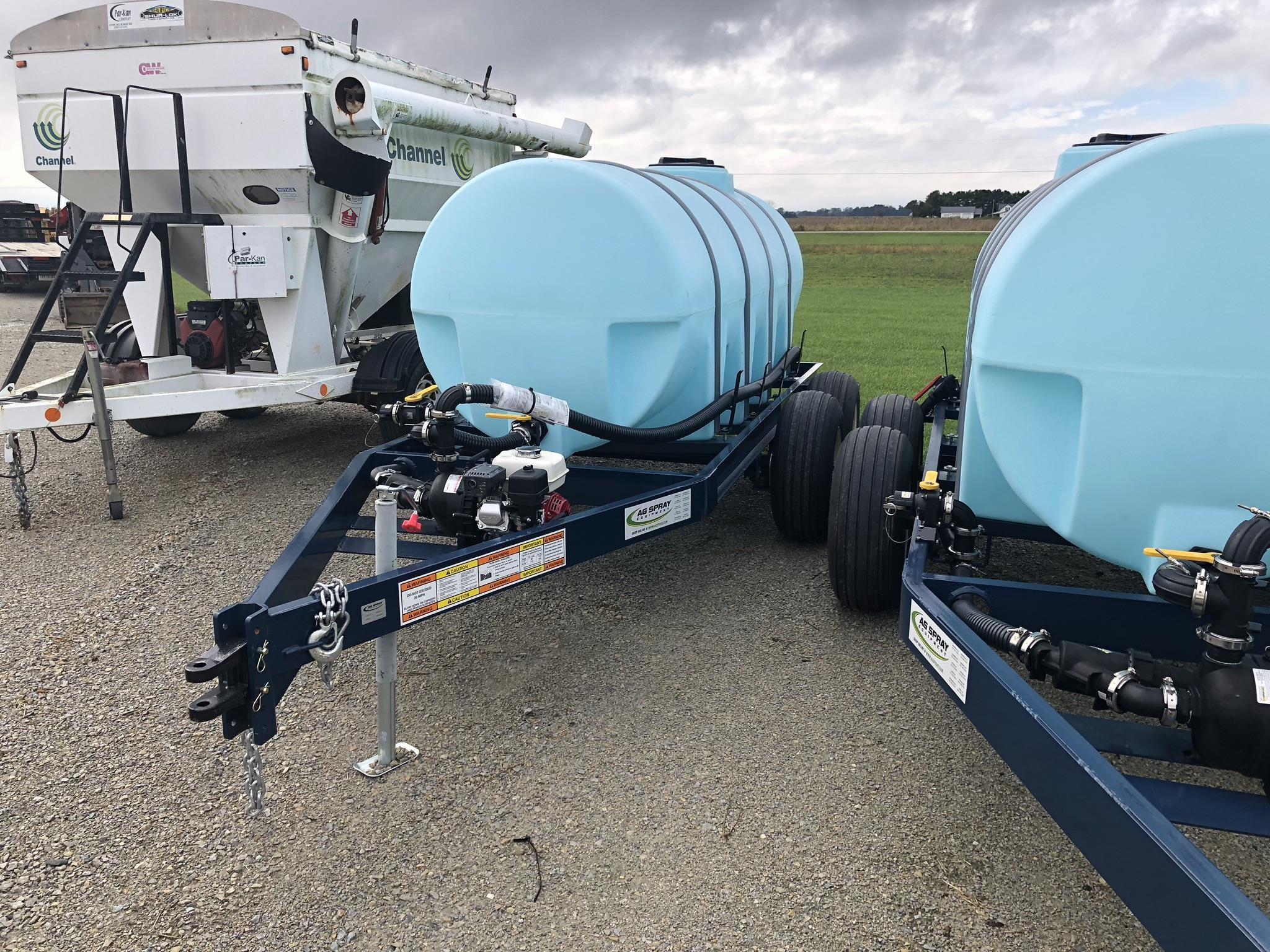 Ag Spray Equipment 1010 Tank