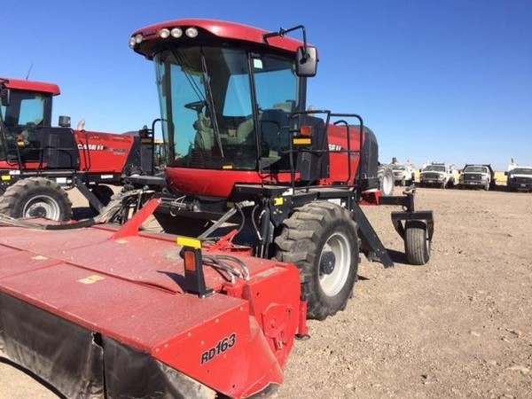 Used Case IH WD2303 Self-Propelled Windrowers and Swathers