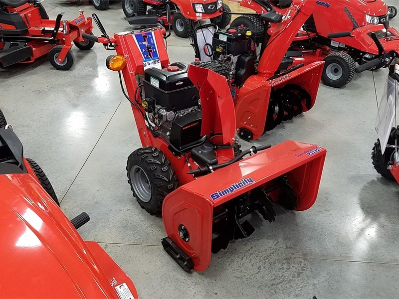 Used Simplicity Snow Blowers for Sale   Machinery Pete