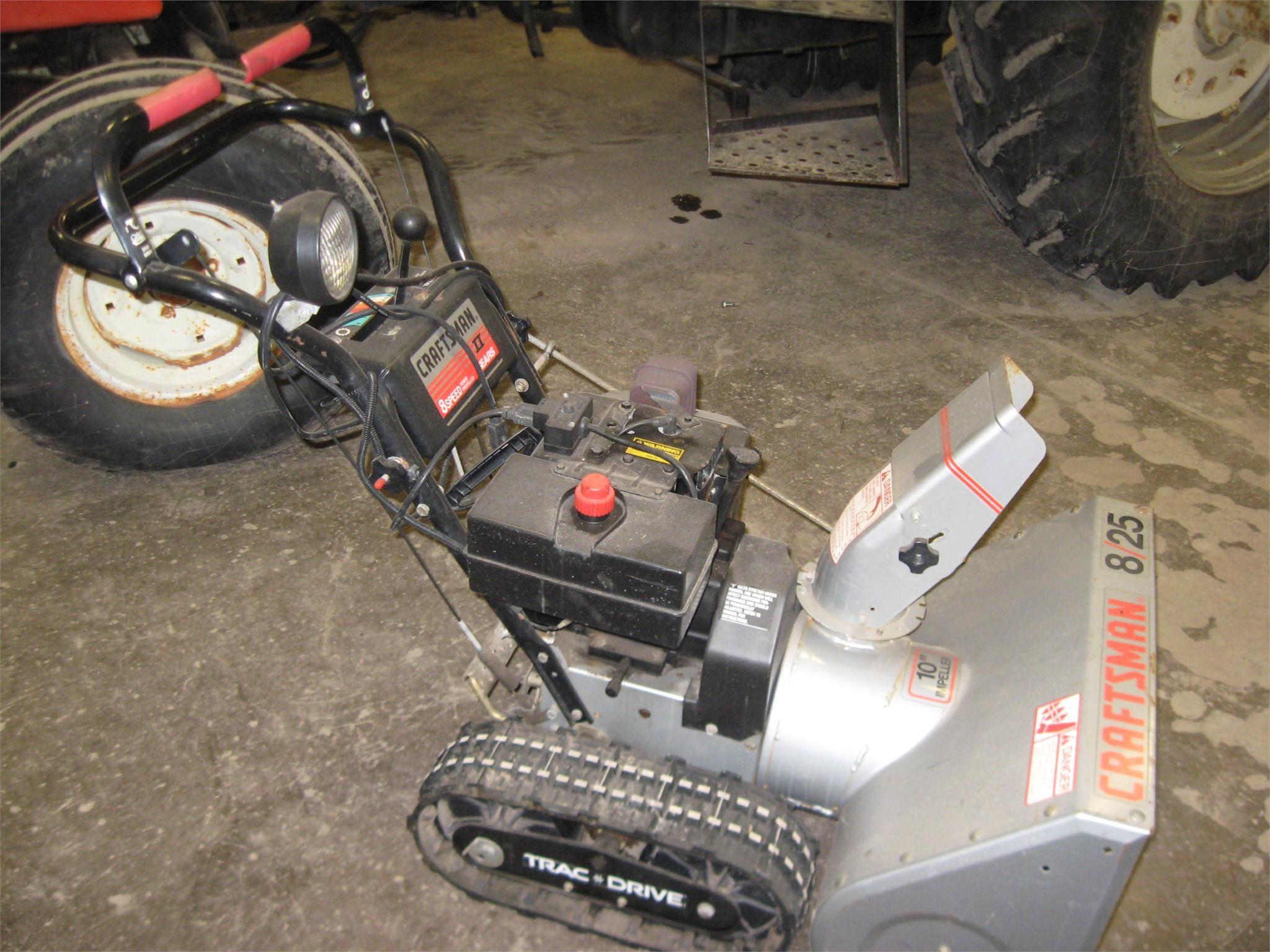 Craftsman 768.884900 Snow Blower