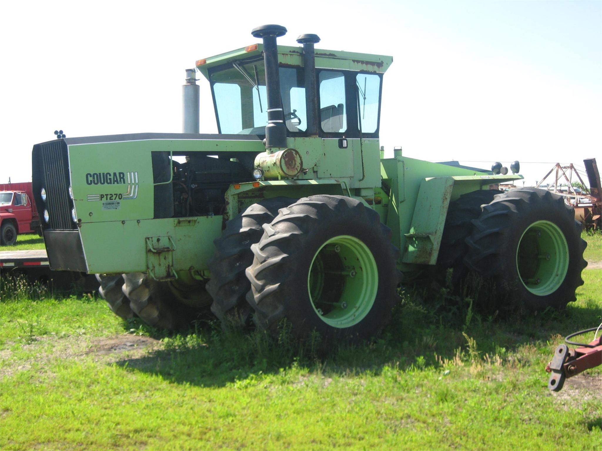 1981 Steiger Cougar III PT270 Tractor
