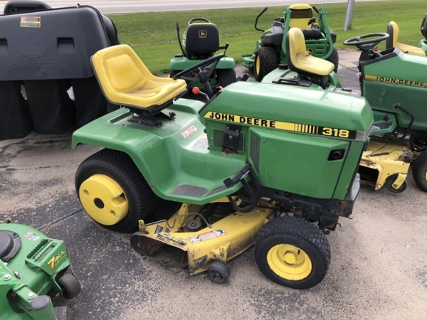 John Deere 318 Lawn And Garden For Sale Machinery Pete. 1991 John Deere 318 Lawn And Garden. John Deere. John Deere Lt155 Dom Mulching Deck Mower Belt Diagram At Scoala.co