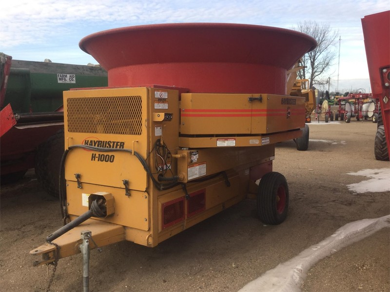 2011 Haybuster H1000 Grinders and Mixer
