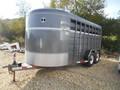 2010 Corn Pro 6x16 Livestock Trailer