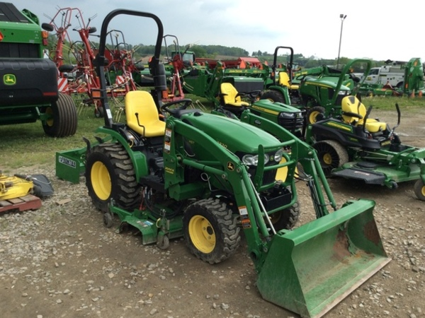 2012 john deere 2320 tractor zanesville ohio. Black Bedroom Furniture Sets. Home Design Ideas
