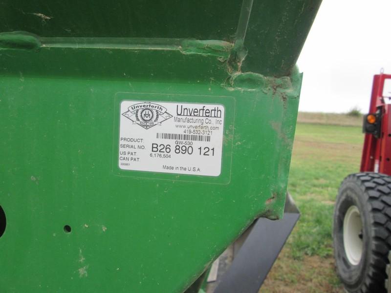 2010 Unverferth 530 Gravity Wagon
