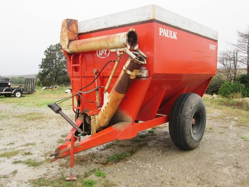 Paulk 1428 Grain Cart