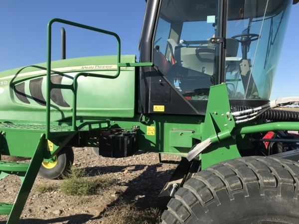 2012 John Deere W150 Self-Propelled Windrowers and Swather