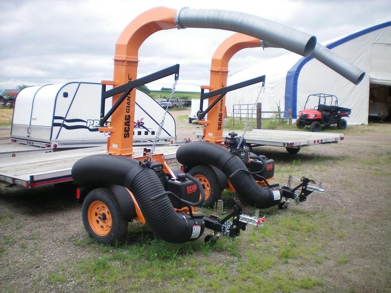 Scag Giant-Vac TL20W-26CH-EFI Lawn and Garden
