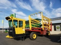 2002 New Holland BW28 Bale Wagons and Trailer