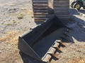 """John Deere 84"""" Tooth Bucket Loader and Skid Steer Attachment"""