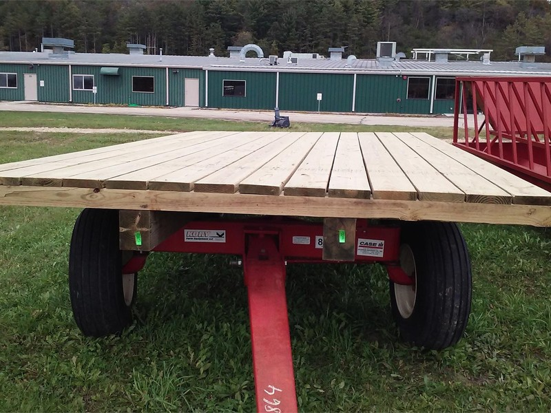 2018 HOMEMADE 9X16 Flatbed Trailer