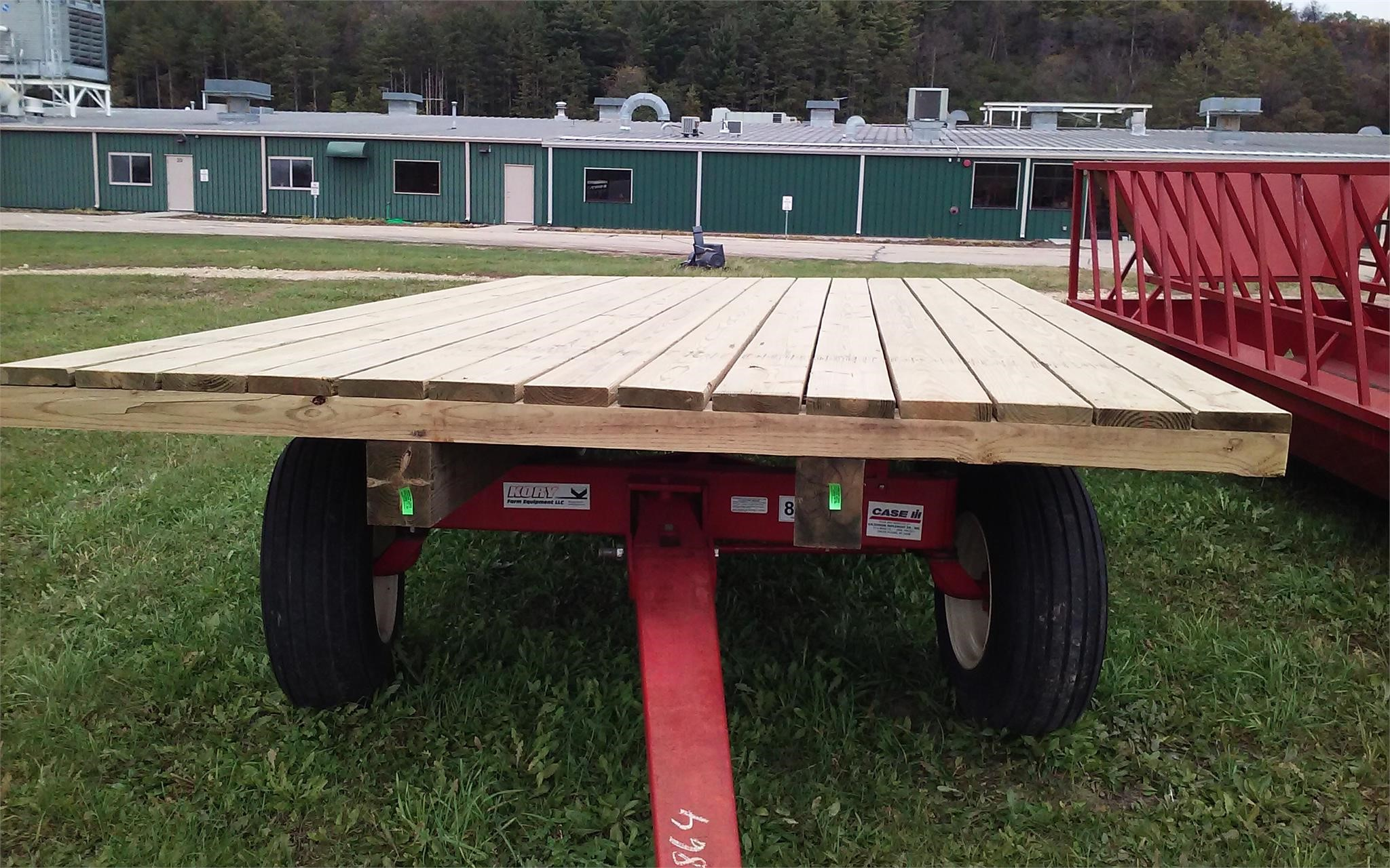 2020 HOMEMADE 9X16 Flatbed Trailer
