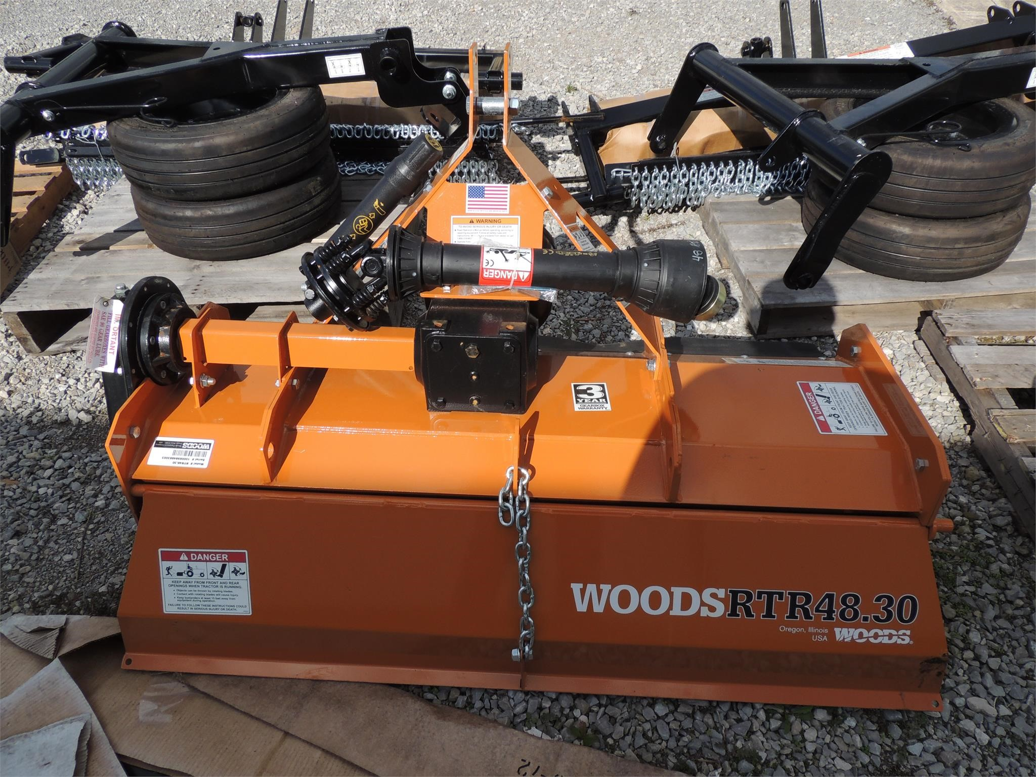 2021 Woods RTR48.30 Lawn and Garden