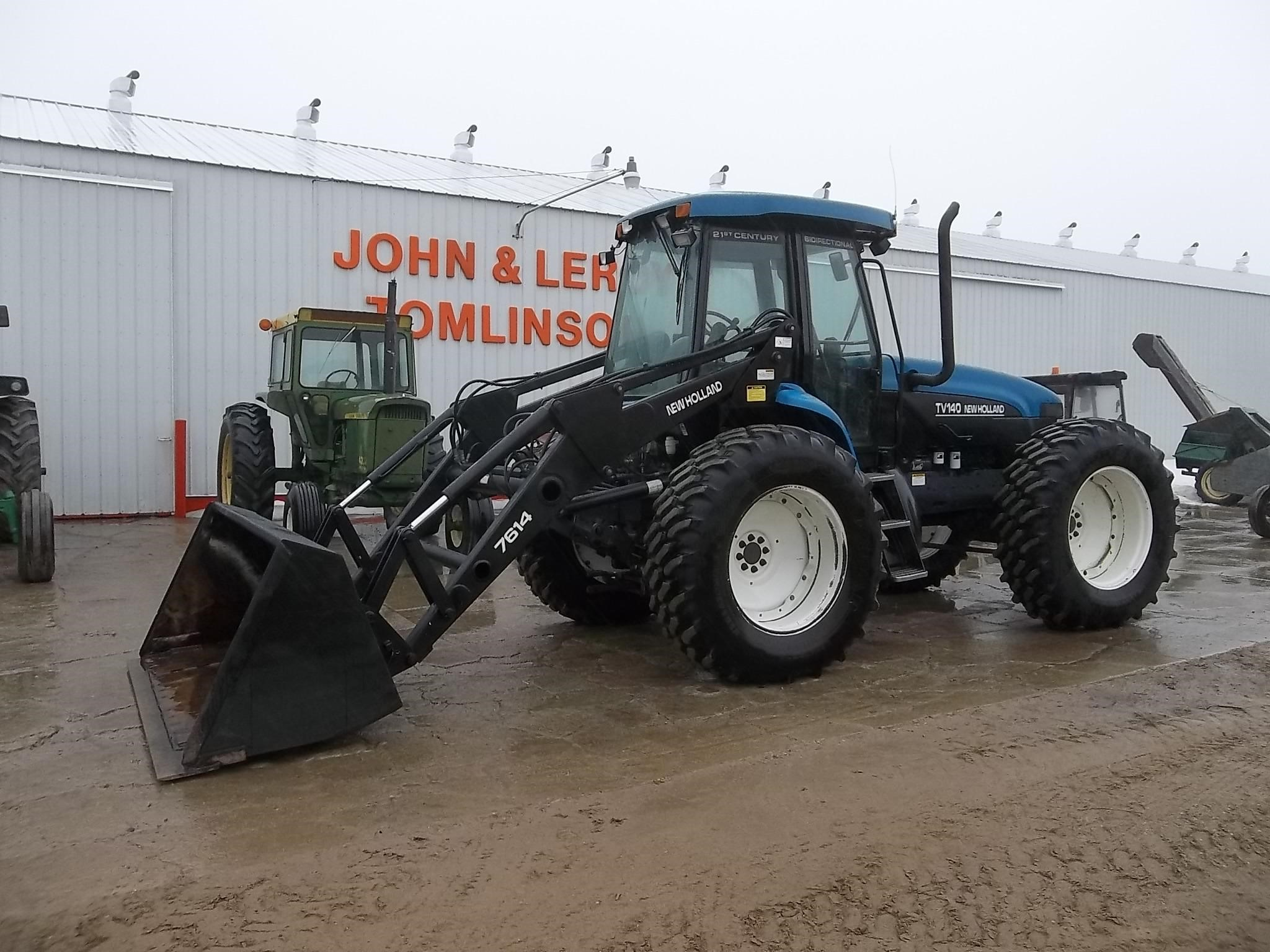 2001 New Holland TV140 Tractor