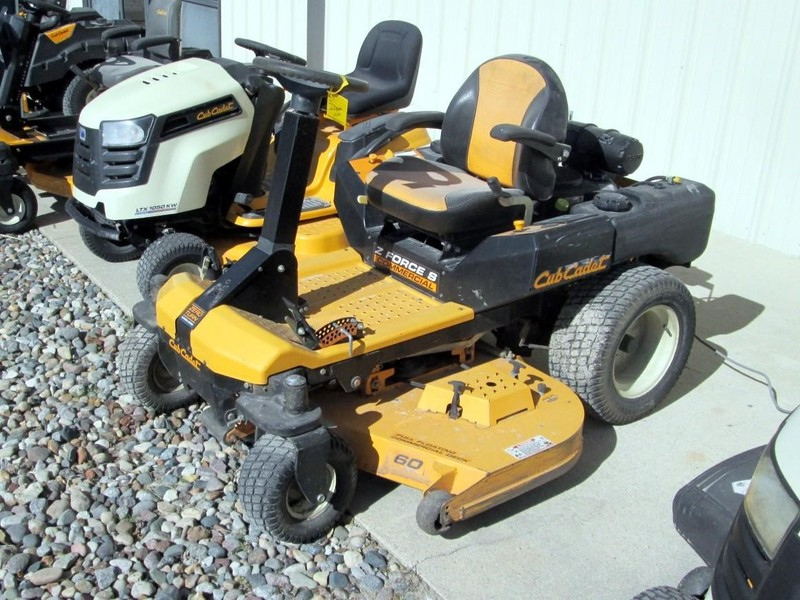 Used Cub Cadet Z-Force S60 Lawn and Garden for Sale