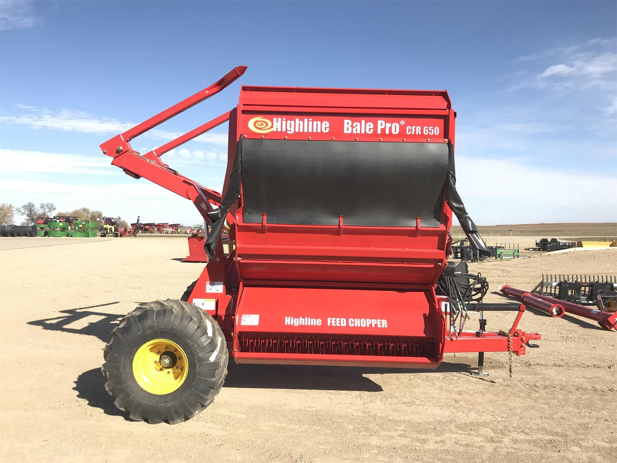 2020 Highline CFR650 Grinders and Mixer