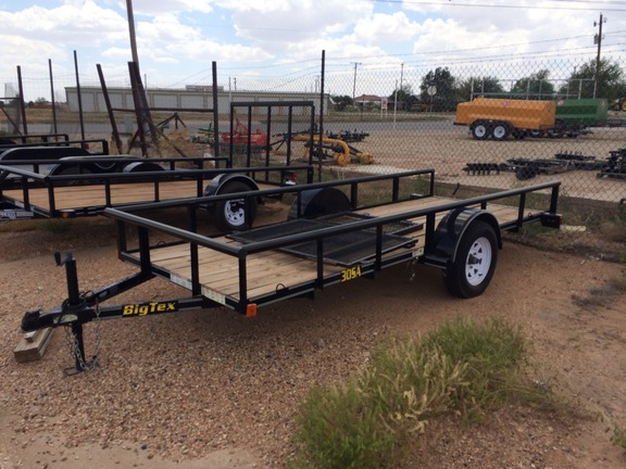 2011 Big Tex 14 FT. TRAILER Flatbed Trailer