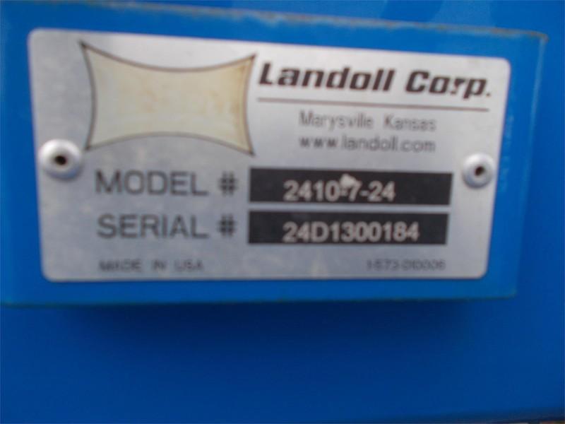 2013 Landoll 2410 Weatherproofer WP1 Disk Chisel