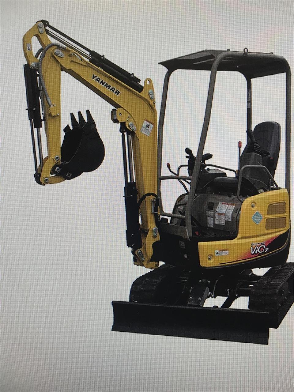 2021 Yanmar VIO17 Excavators and Mini Excavator