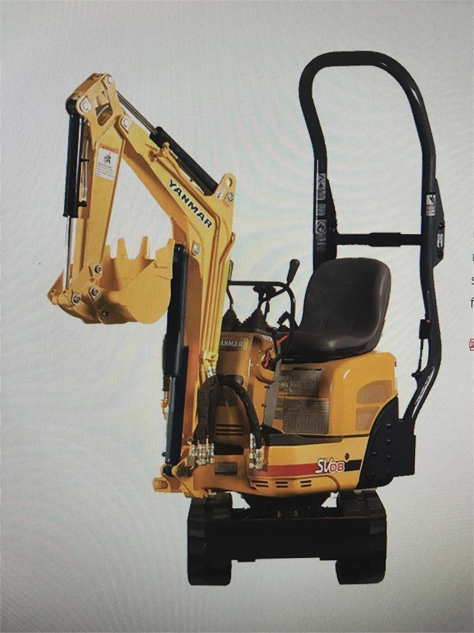 2020 Yanmar SV08-1A Excavators and Mini Excavator